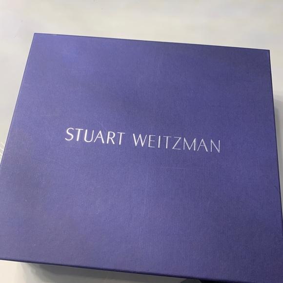 Stuart Weitzman wedge suede sandals